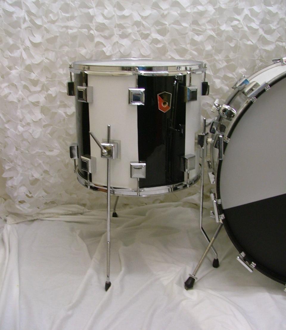 Eddie Ryan Custom 1978 Black Drum For Sale Nick Hopkin Drums