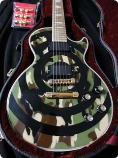 Gibson Les Paul Zakk Wylde Bullseye Camo Custom Shop 2000