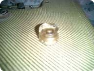 Gibson 38 ICE CUBE KNOB 1953 GOLD
