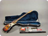 Fender American Deluxe Jazz Bass 1998 Sunburst