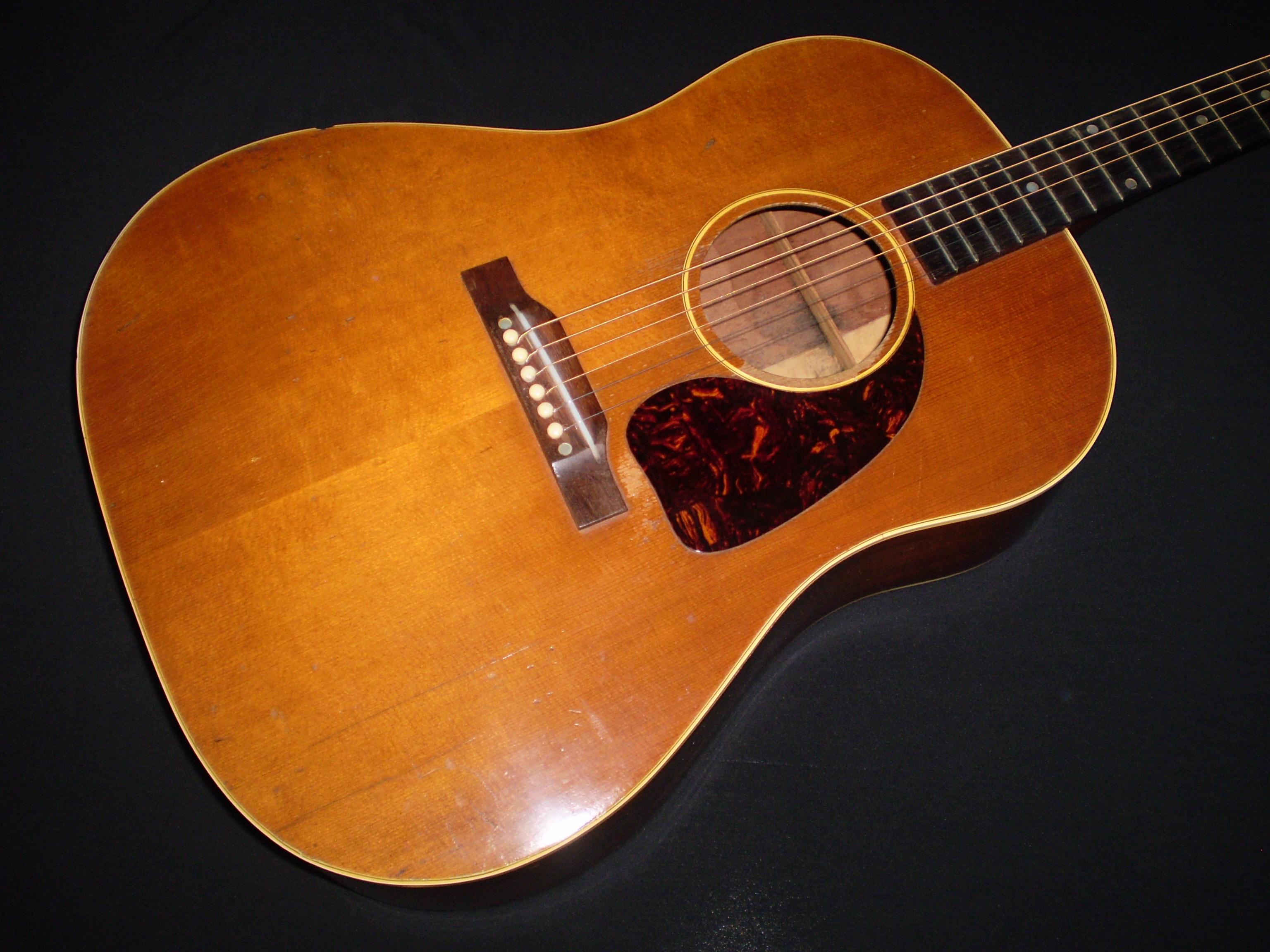 gibson j50 1952 natural guitar for sale glenns guitars. Black Bedroom Furniture Sets. Home Design Ideas