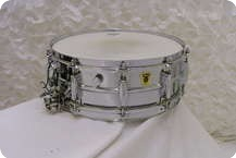 Ludwig Super Sensitive Transition Badge 1959 Chrome
