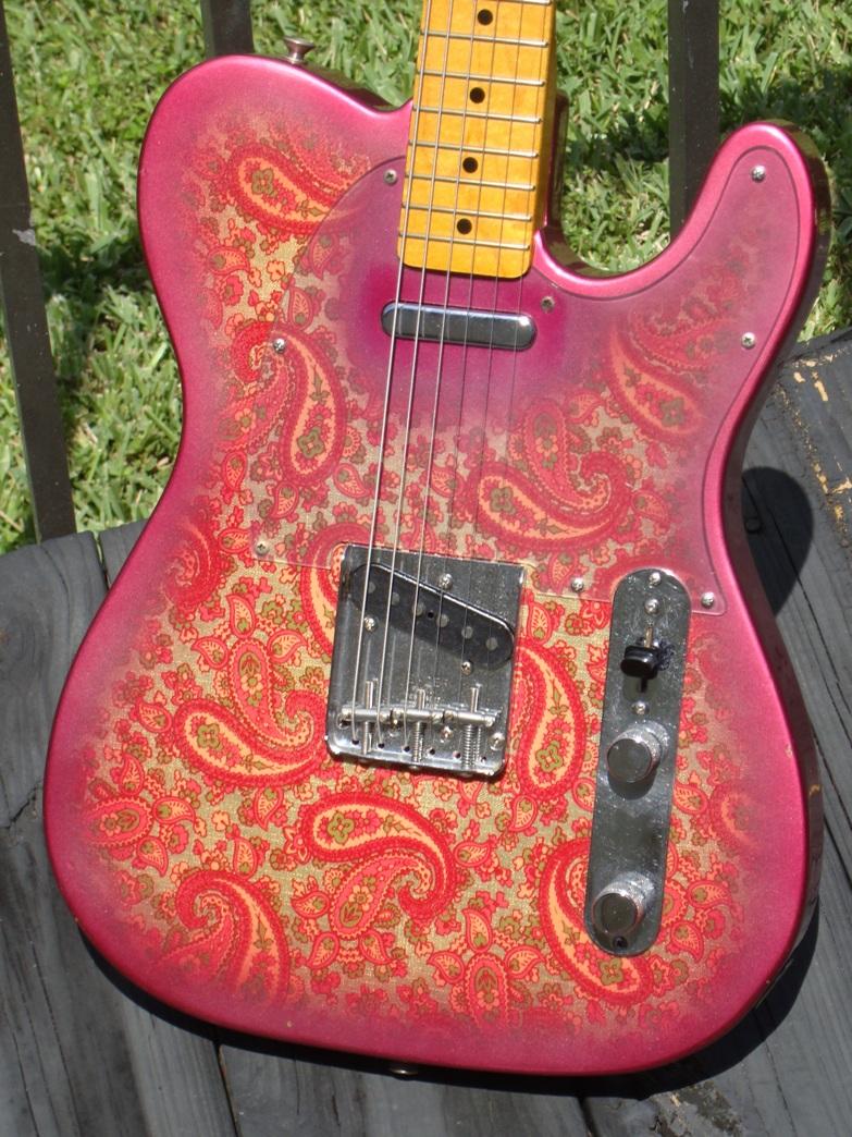 fender telecaster paisley 1969 guitar for sale guitarbroker. Black Bedroom Furniture Sets. Home Design Ideas