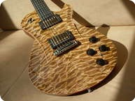 Frank Hartung Guitars Embrace Hollow Wood Deluxe