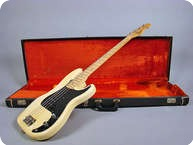 Fender Precision Bass P Bass 1974 Olympic White