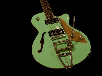 duesenberg starplayer tv 2010 39 s surf green guitar for sale musikhaus jever. Black Bedroom Furniture Sets. Home Design Ideas