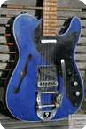 Fender Custom Shop Telecaster Masterbuilt Thinline Candy Blue