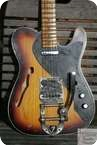 Fender Custom Shop Telecaster Masterbuilt Thinline 2 Tone Sunbrust