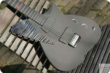 Frank Hartung Guitars Caligo Black Flames Black Flame