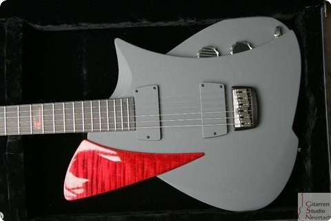 Frank Hartung Guitars Caligo Red Bright Sunshine