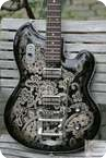 Nick Page Guitars Strich2.2 Black Paisley