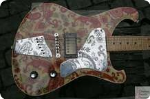 Nick Page Guitars Baron Prime Aisley Paisley