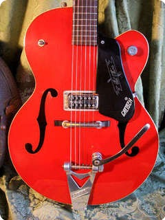 Gretsch 6119 Chet Atkins Tennessean 1960 Red