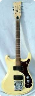 Mosrite Mark V 1969 White Cream