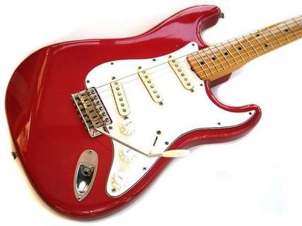 Fernandes Revival 57 1982 Candy Apple Red