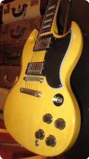 Gibson Custom Shop Sg Tv Yellow (1961 Reissue) 2002 Tv Yellow