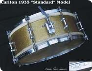 Carlton Standard 1935 Gold Sparkle