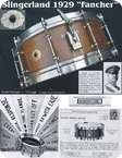 Slingerland Fancher 1929 Natural