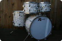Rogers USA HolidayPowertone Re Wrap Antique White Marine Pearl