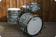 Ludwig Downbeat 1966 Original Sky Blue Diamond Pearl