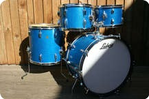 Ludwig Hollywood 1967 Original Blue Sparkle