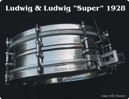Ludwig & Ludwig Super 1928 Chrome