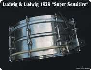 Ludwig Ludwig Super Sensitive 1929 Chrome