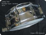 Ludwig Super Sensitive 1962 Chrome