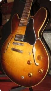 Gibson Es 335 Custom Shop Edition 1984 Sunburst