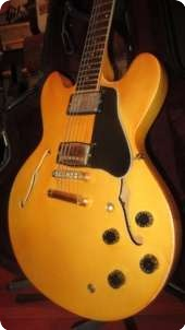 Gibson Es 335 Custom Shop Edition  1984 White Gold