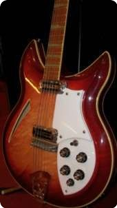 Rickenbacker Model 381 1987 Fireglo