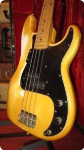 Fender Precision Bass P Bass 1975 White
