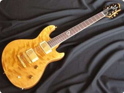 Ruokangas Guitars Duke Sonic Deluxe Natural