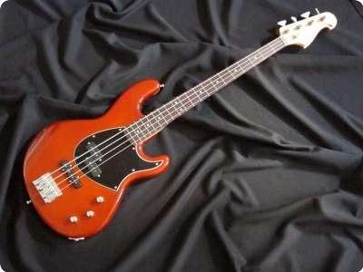 Ruokangas Guitars Steambass P/j Sweet Amber