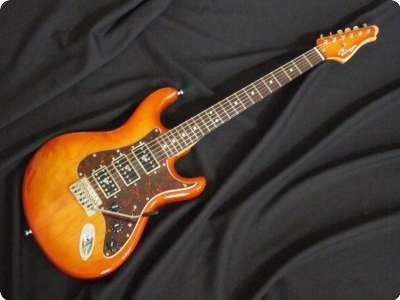 Ruokangas Guitars Vsop  Honey Sunburst