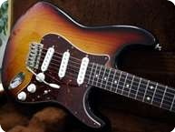 Smitty Guitars Custom S Style Sunburst