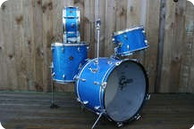 Gretsch Progressive Jazz 20 12 14 Snare Original Blue Glass Sparkle