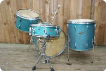 Trixon Luxus Teardrop 1960 Original Aqua Sparkle