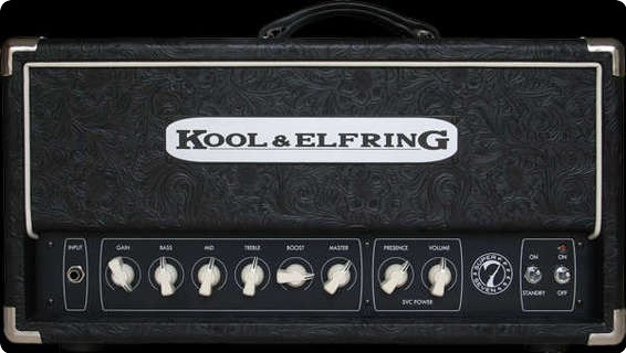 Kool & Elfring Super7 Deluxe Black Rose