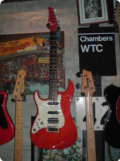 Tom Anderson Stratocaster 2013 Red