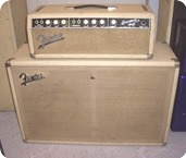 Fender Bassman 1963 White Blond Tolex