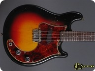 Fender Mandocaster Electric Mandolin 1963 3 tone Sunburst