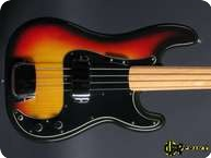 Fender Precision Bass 1976 3 tone Sunburst