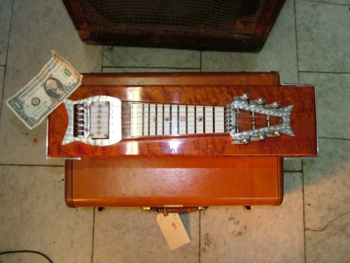 zb custom mini pedal steel 2010 39 s guitar for sale chelsea guitars. Black Bedroom Furniture Sets. Home Design Ideas