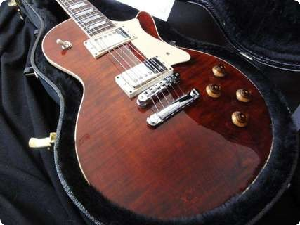The Heritage H150 25th Anniversary Les Paul Standard 2010 Burnt Amber