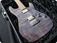 Suhr Standard Flamed Maple Pau FerroMahogany 2012 Trans Blue Denim Slate 