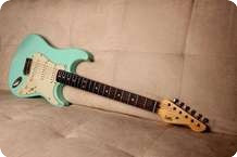 LsL Lance Lerman Guitars SATICOY SEA FOAM GREEN