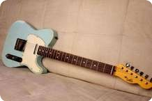 LsL Lance Lerman Guitars T Bone CUSTOM COLOR SONIC BLUE RW