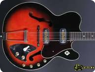 Harmony H66 Vibrajet 1961 Redburst