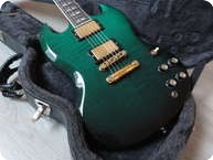 Gibson SG Supreme Flametop Emerald Green
